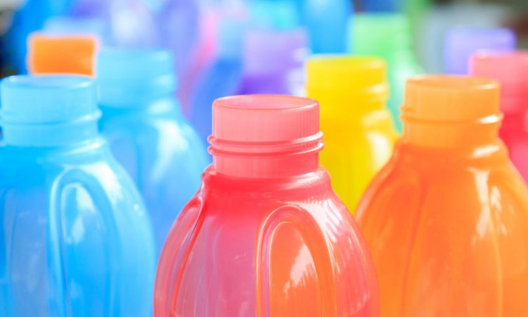 50101462 - colorful of plastic bottle
