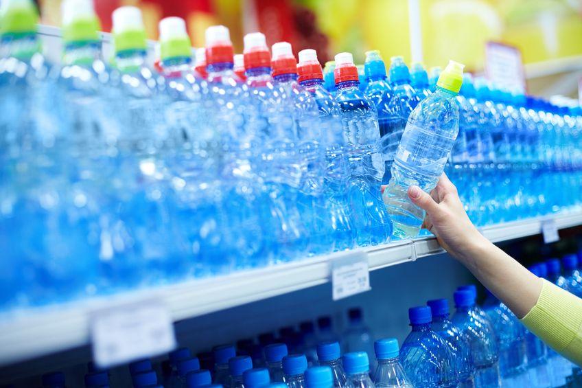 botellas plástico