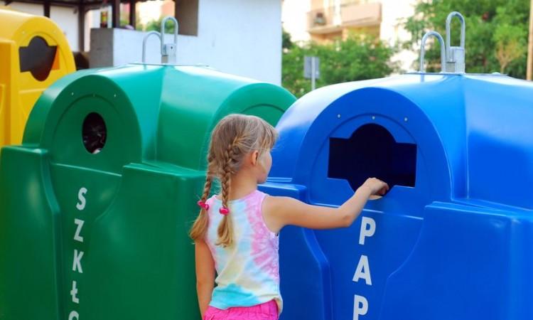 reciclaje niños